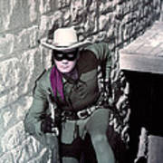 Clayton Moore In The Lone Ranger Art Print