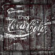 Coca Cola Sign Art Print