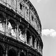 Colosseum - Rome Italy Art Print