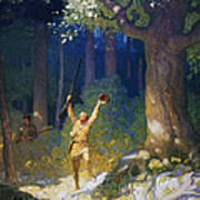 Cooper: Deerslayer, 1925 Art Print