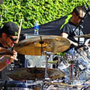 Dave Lombardo And Pancho Tomaselli Art Print