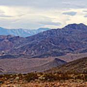 Death Valley Mountains Art Print