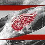Detroit Red Wings Art Print