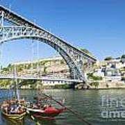 Dom Luis Bridge Porto Portugal Art Print