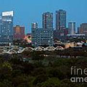 Downtown Fort Worth Texas Art Print