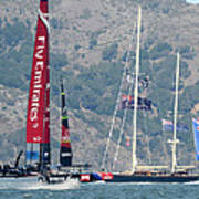 Emirates Team New Zealand Art Print