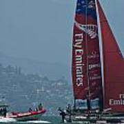 Emirates Team New Zealand Print by Steven Lapkin