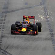 F1 Grand Prix of Singapore - Qualifying Art Print