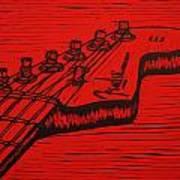 Fender Strat Art Print