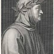 Francesco Petrarch  Italian Poet Art Print