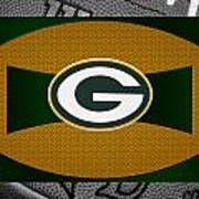 Green Bay Packers Art Print by Joe Hamilton