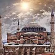Hagia Sophia Istanbul Art Print