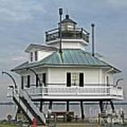 Hooper Straight Lighthouse Art Print