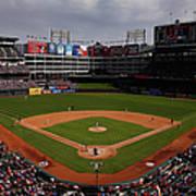 Houston Astros V Texas Rangers Art Print