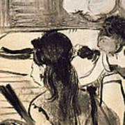 Illustration From La Maison Tellier By Guy De Maupassant Art Print