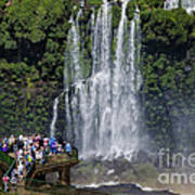 Iquazu Falls - South America Art Print