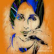 Joan Baez Collection Art Print