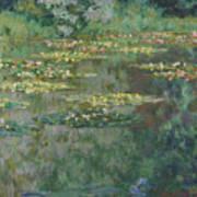 Le Bassin Des Nympheas Art Print