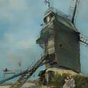 Le Moulin De La Galette Art Print