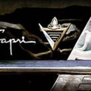 Lincoln Capri Emblem Art Print