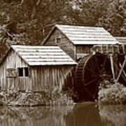 Mabry Mill - Blue Ridge Mountains Art Print