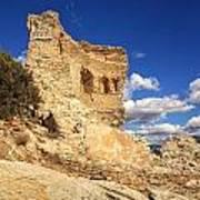 Martello Tower Near St Florent In Corsica Art Print