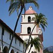 Old Mission Santa Barbara Art Print
