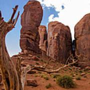 Monument Valley - Arizona Art Print