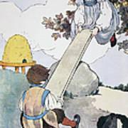 Mother Goose, 1916 Art Print by Granger