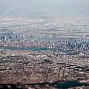 New York City Aerial Art Print