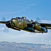 North American B-25g Mitchell Bomber Art Print