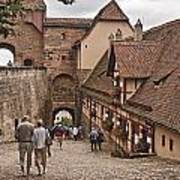 Nurnberg Germany Castle Art Print