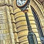 4 O'clock Train Art Print