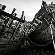 Old Abandoned Ships Art Print