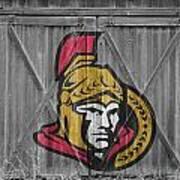 Ottawa Senators Art Print