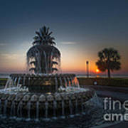 Charleston Sunrise  Art Print