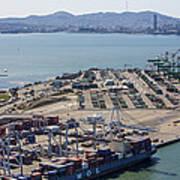 Port Of Oakland, Oakland Art Print