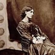 Portrait Of Jane Morris Art Print