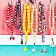 Prayer Beads Art Print