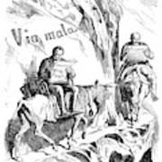 Prince Otto Von Bismarck (1815-1898) Art Print