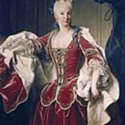 Ranc, Jean 1674-1735. Portrait Art Print