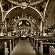 Saint Marys Orthodox Cathedral Art Print