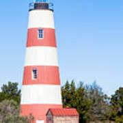 Sapelo Island Lighthouse Sapelo Island Georgia Art Print