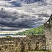 Kilchurn Castle Scotland Art Print