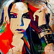 Shakira Collection Art Print