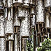 Sibelius Pipe Monument - Helsinki Finland Art Print
