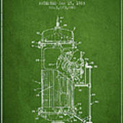 Space Capsule Patent From 1963 Art Print by Aged Pixel