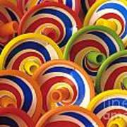 Spinning Tops Art Print