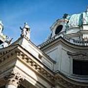 St. Charles Church - Karlskirche - In Vienna Art Print