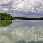 4-summer Time At Moraine View State Park Art Print